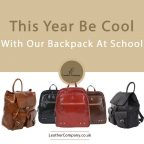 Leather Company Back to School Backpacks