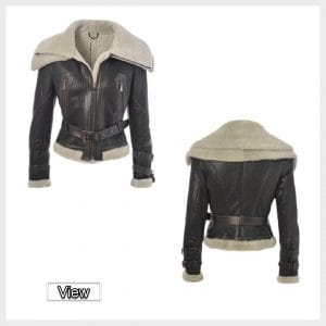 Womens Sheepskin leather Jacket