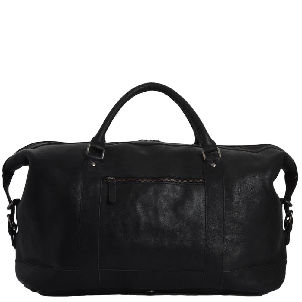 c80cc00a0f8 Extra Large Leather Travel Holdall Black - Austin