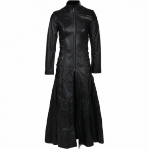 Full Length Gothic Coat Black : Lolita
