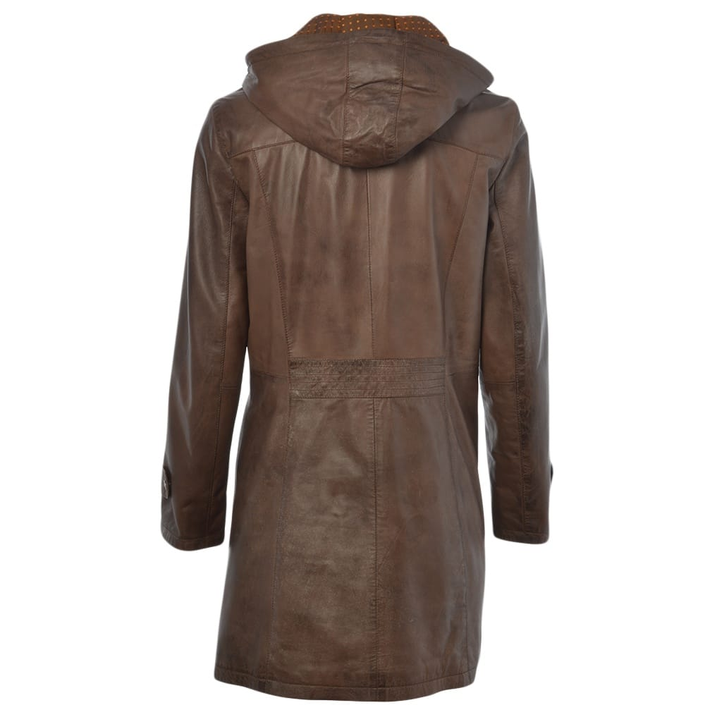 Brown coat women