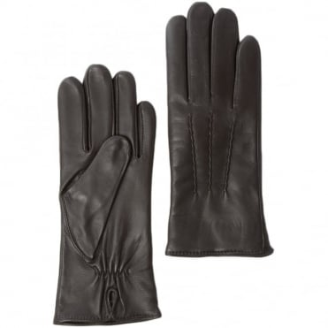 Leather Gloves Brown : 401