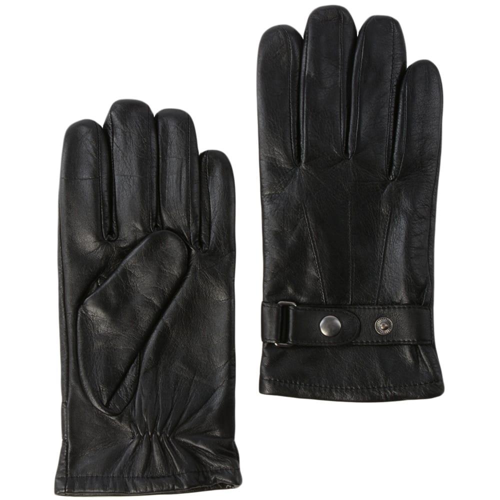 Mens leather gloves sale - Ashwood Gloves Mens Leather Gloves Black 714