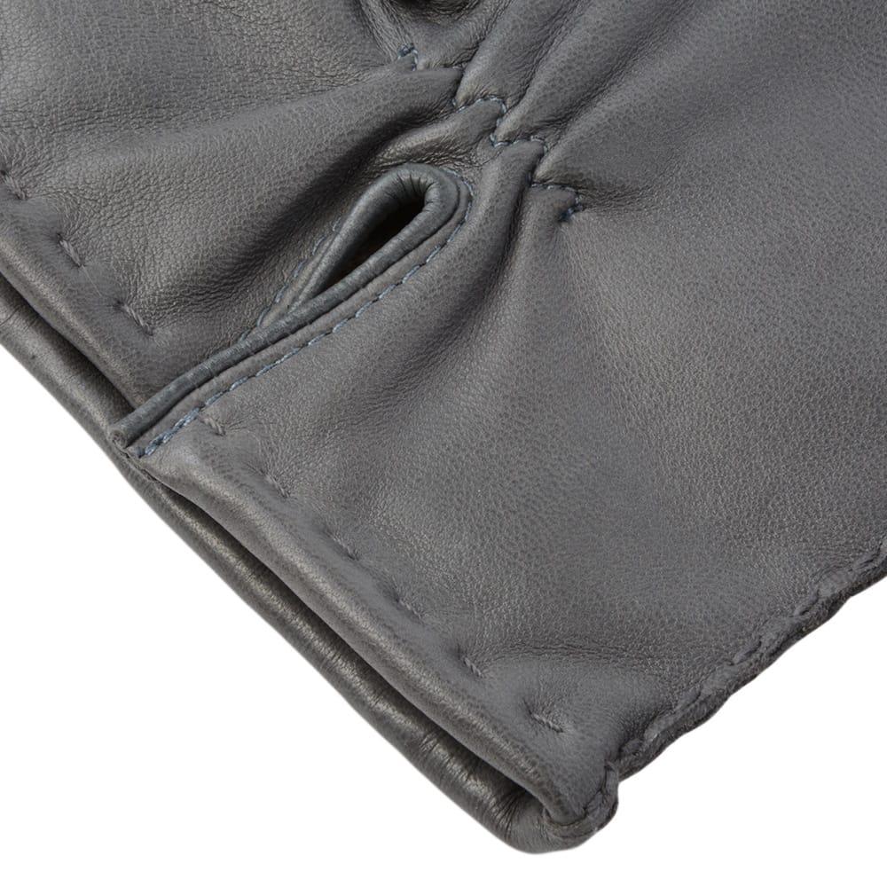 Mens leather gloves grey -  Ashwood Mens Leather Gloves Gray 710