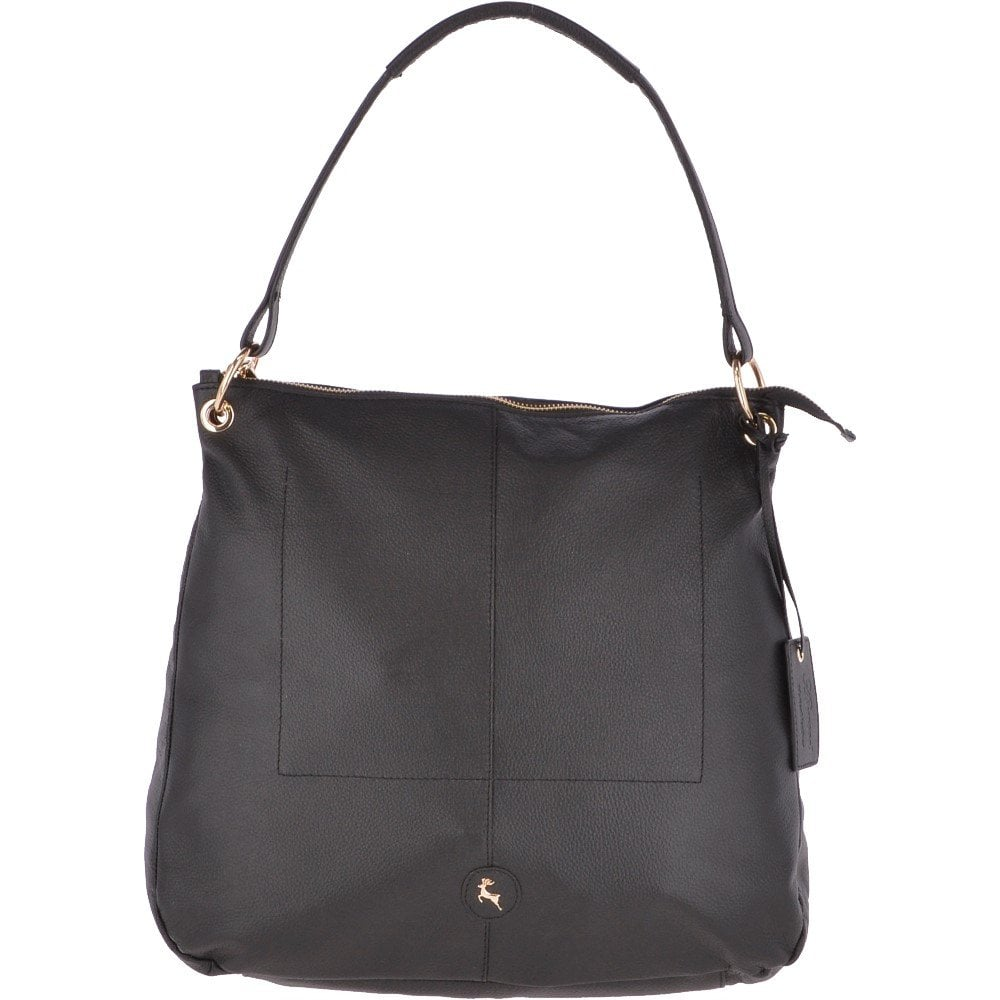 2c1aaadb5 Large Leather Hobo Bag Black : 62240 - Handbags from Leather Company UK