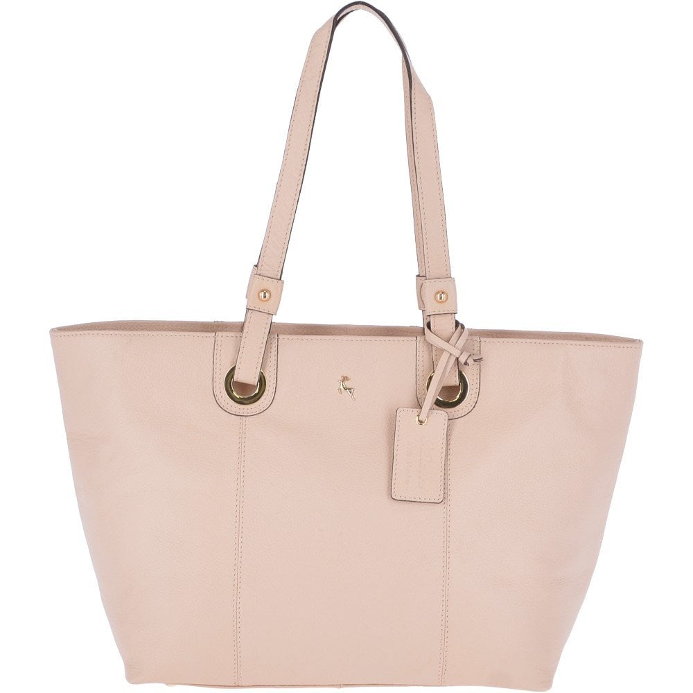 bcc3d23279ac ASHWOOD Large Leather Tote Bag Panna Cotta Cream   60252 - Handbags ...