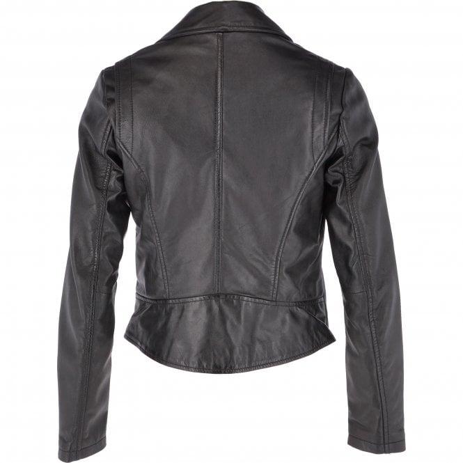 9e6fe7606a29e ASHWOOD Leather Biker Jacket Black   Pippa - Ladies from Leather ...