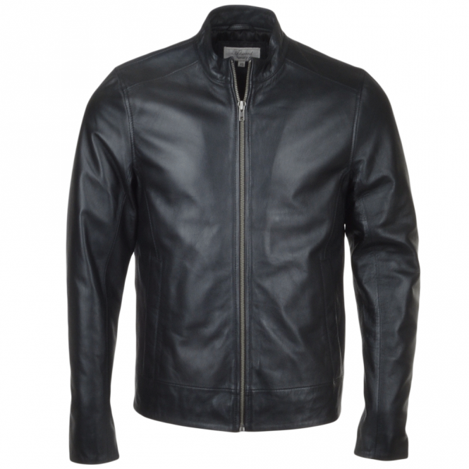 Ashwood Leather Biker Jacket Black : Vitteli