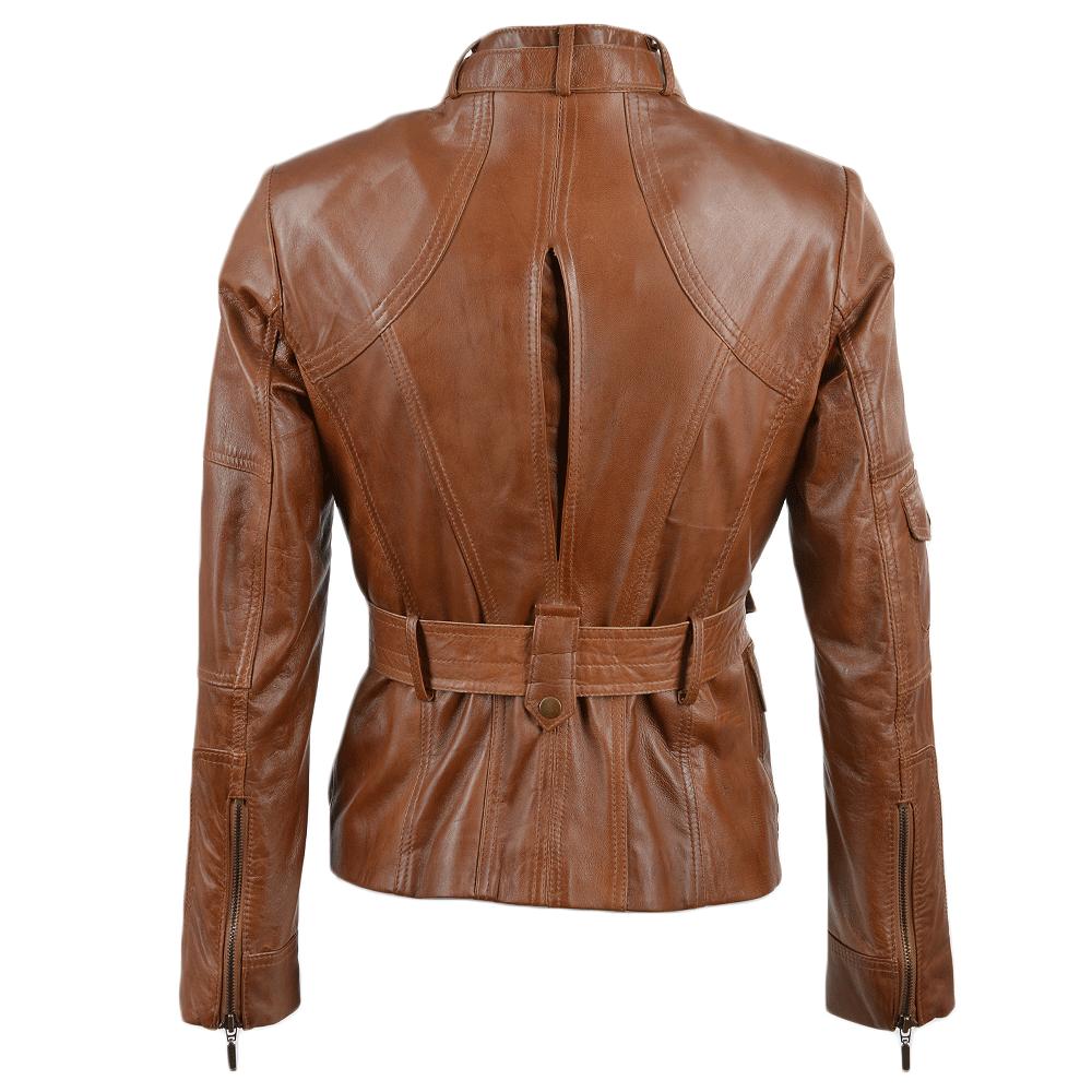 Ladies leather biker jackets sale