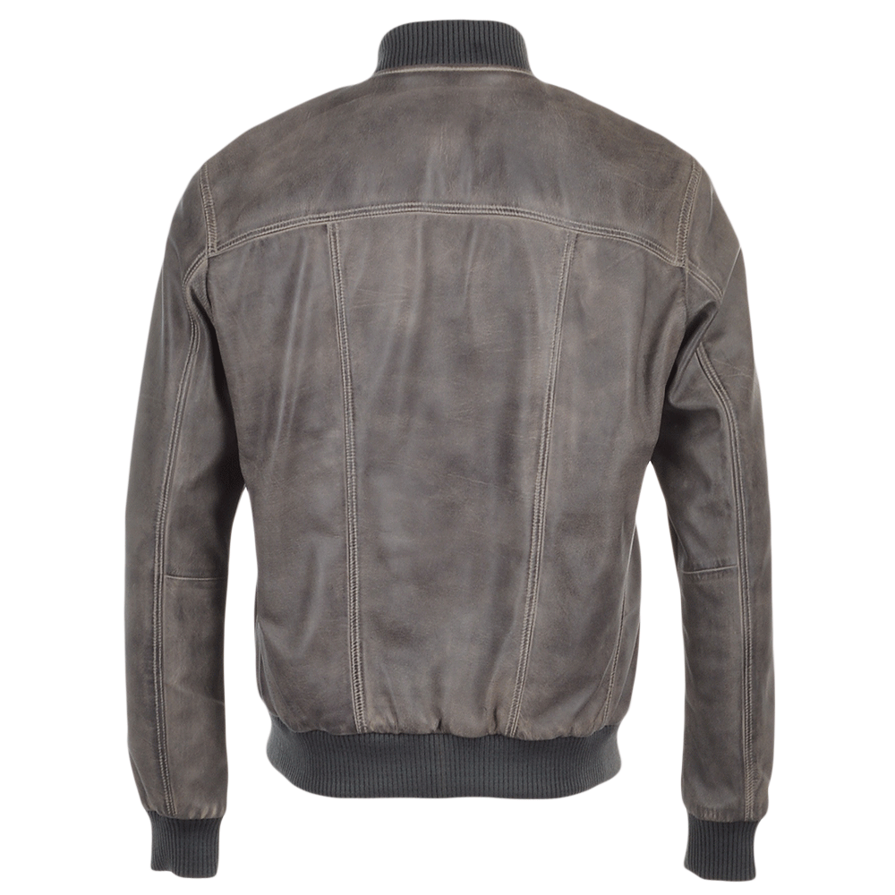 Bomber jacket leather sofa