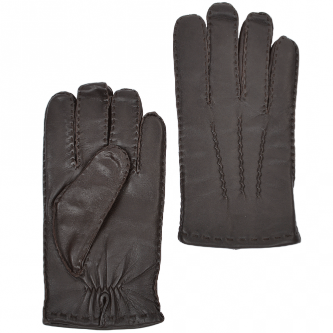 Ashwood Leather Gloves Mid Brown : 710