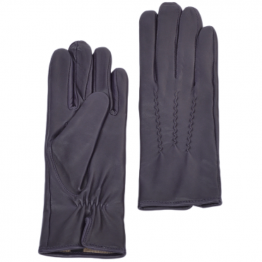 Leather Gloves Purple : 401