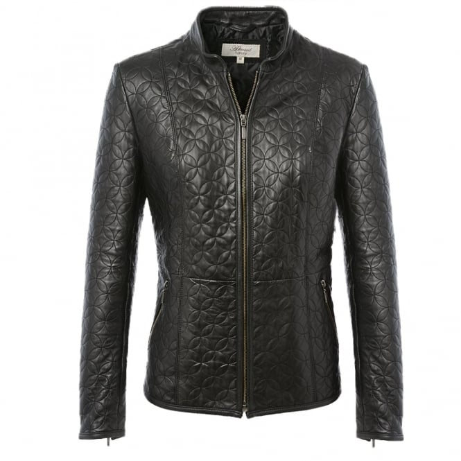 Ashwood Leather Jacket Black/ddy : Agnus