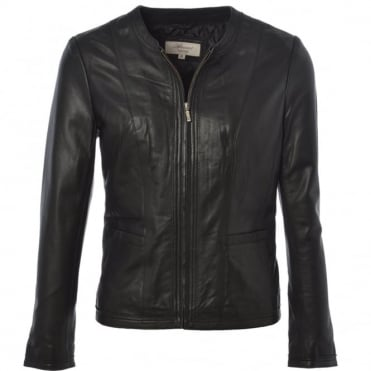 Leather Jacket Black/ddy : Liona