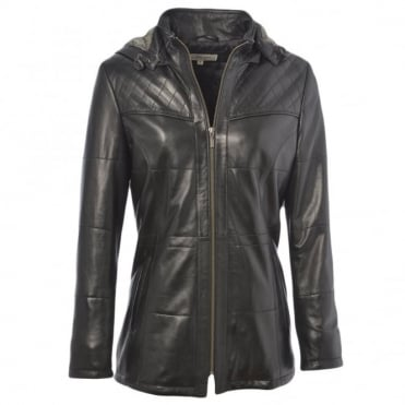 Leather Jacket Black/ddy : Molly
