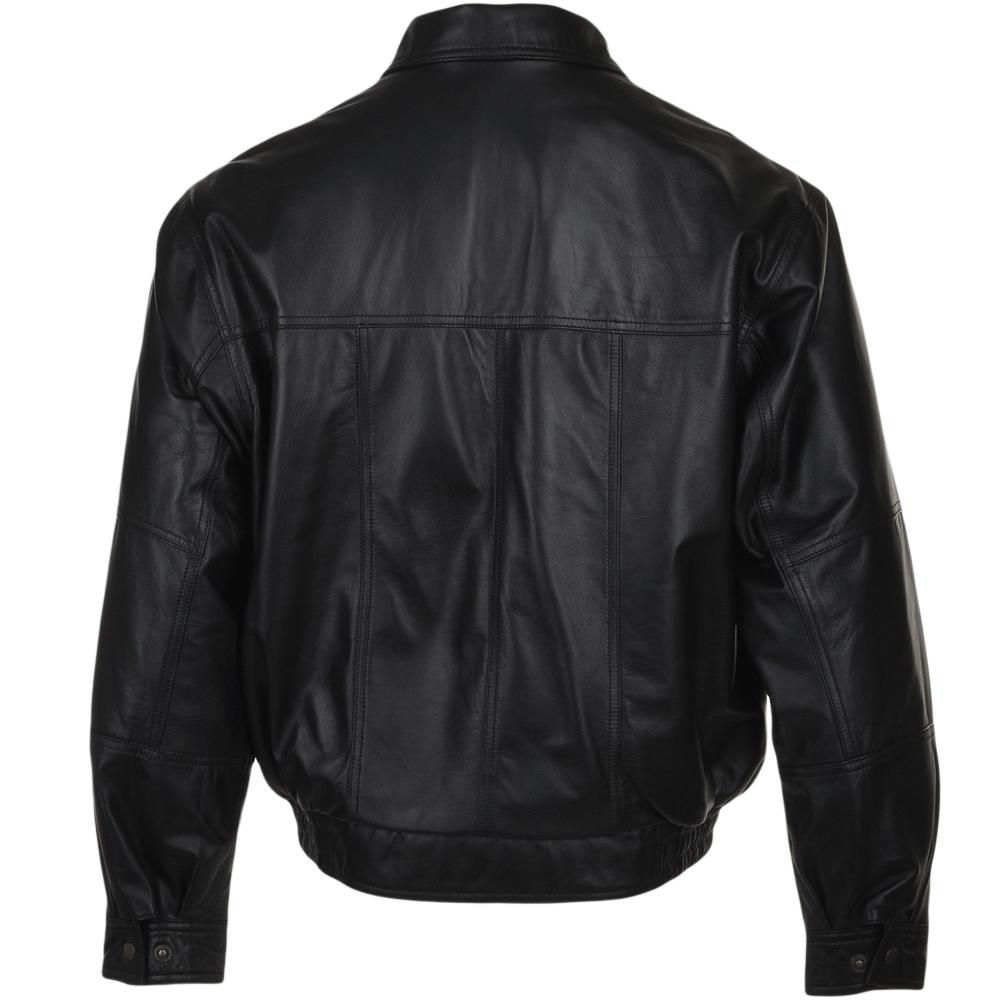 Leather jacket png -  Ashwood Leather Jacket Black Gerard
