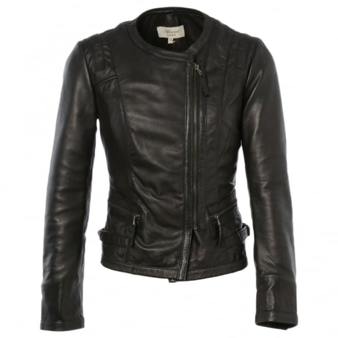Ashwood Leather Jacket Black : Helena