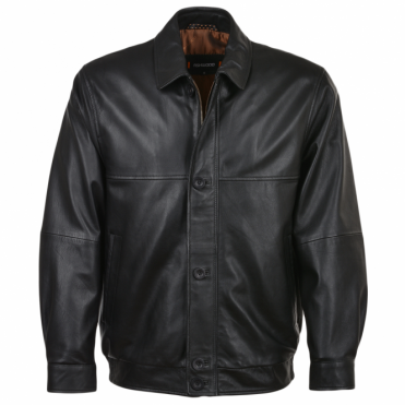 Leather Jacket Black/nap : Ferdinand