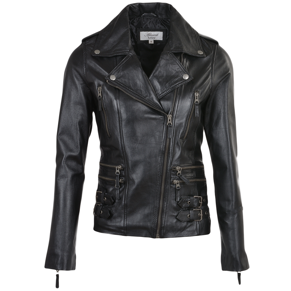d2bd7f9a3c Womens Leather Jacket Black : Ruby | Women's Leather Jackets