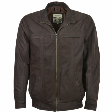 Leather Jacket Brown/snu : Chardin