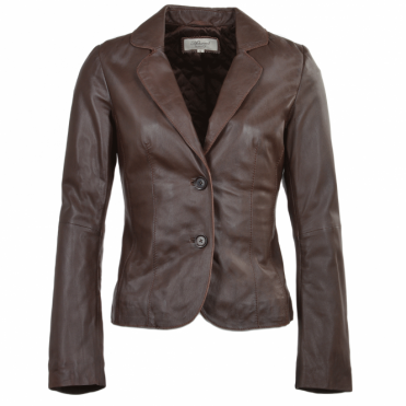 Leather Jacket Brown : Summer