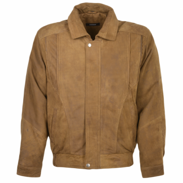 Leather Jacket Cognac/snu : Bernard