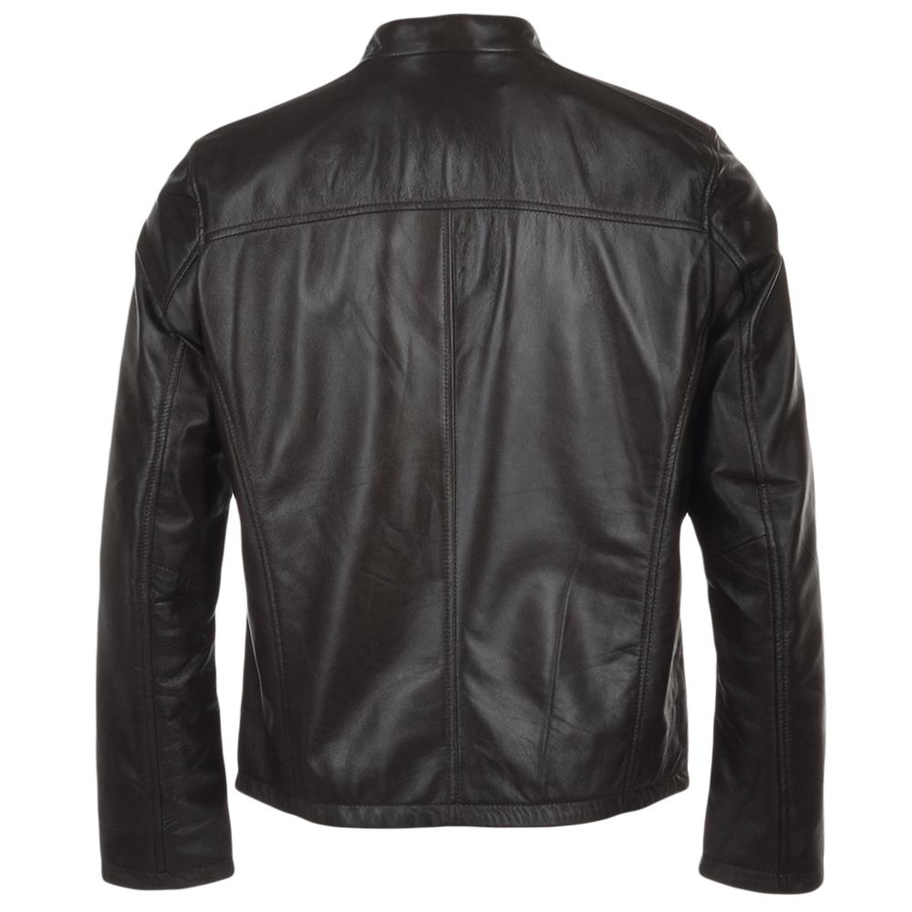 Leather jacket png -  Ashwood Leather Jacket Dark Brown Scott