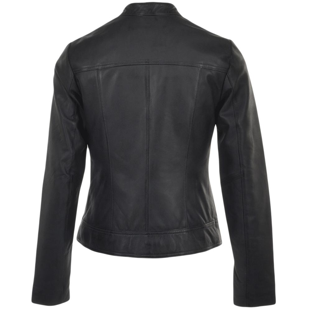 Grey leather jackets