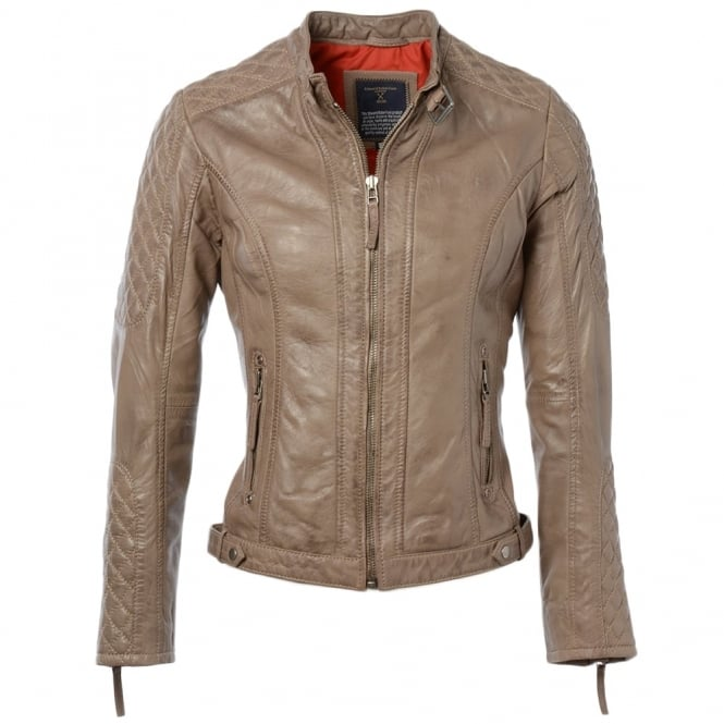Ashwood Leather Jacket Oyester : Kore