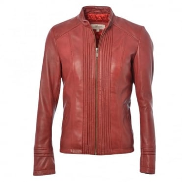 Leather Jacket Red : Infinity
