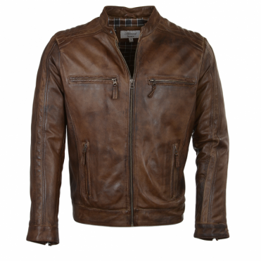 Leather Jacket Timber : Bristol