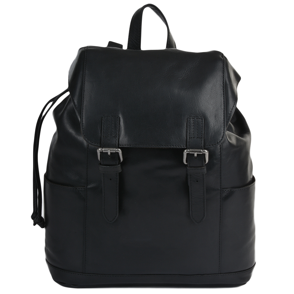 Mens Black Leather Backpack Uk - CEAGESP fa66ab59313e
