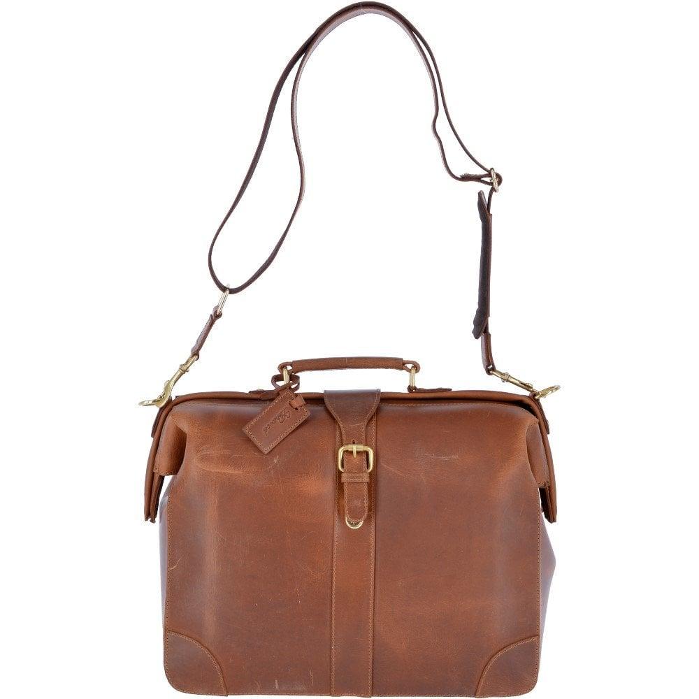 Ashwood Leather Vintage Doctors Work Bag Tan Dextor Mens From