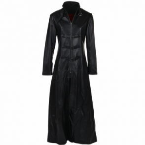 Long Length Gothic Coat Black Black: Zelda