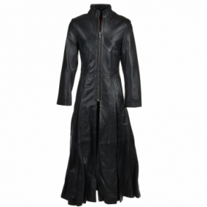 Long Length Gothic Coat Black : Trinity