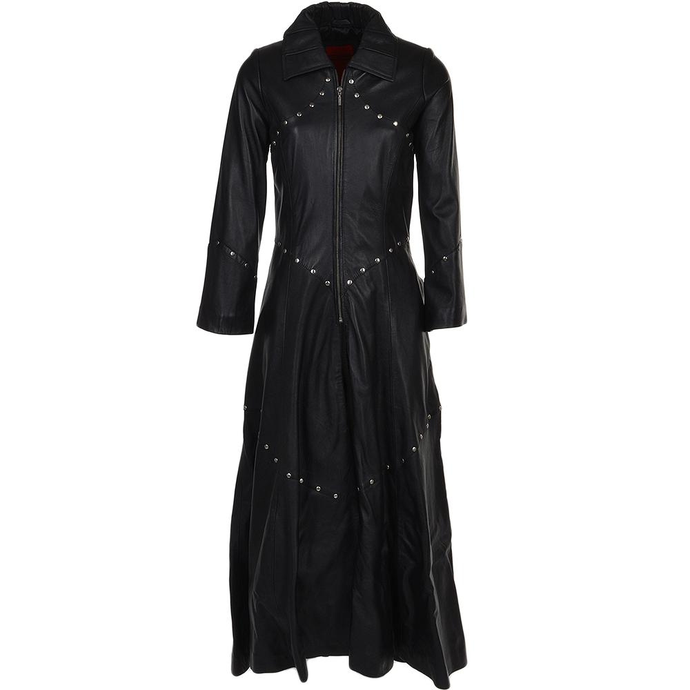 a424b8c8d Long Length Gothic Coat Black : Willow