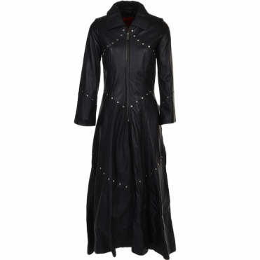 Long Length Gothic Coat Black : Willow