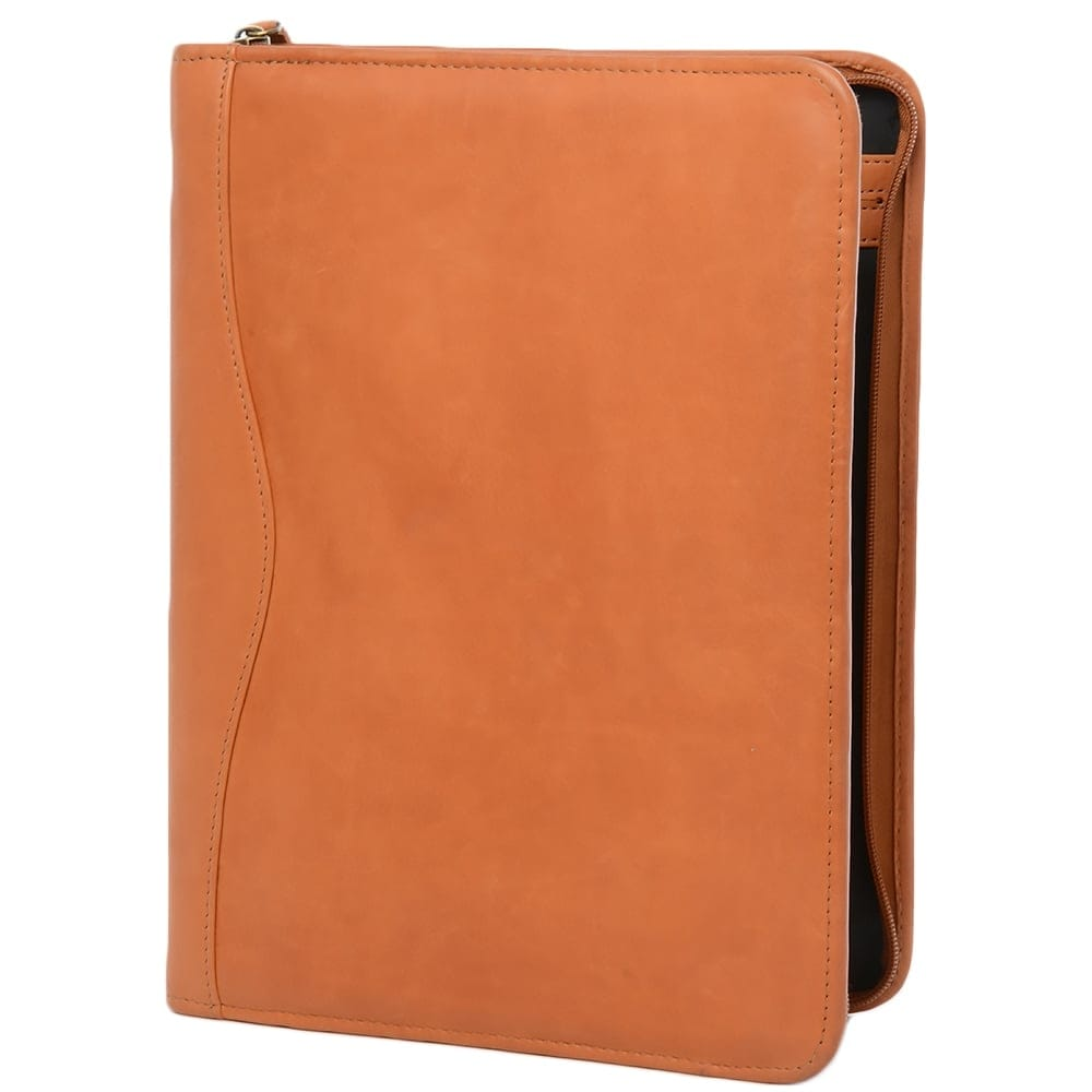 leather document holder tan col a4 sleeve With leather document sleeve