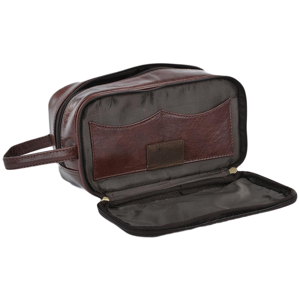 Mens Leather Wash Bag Sale Uk 9ec78751c2619
