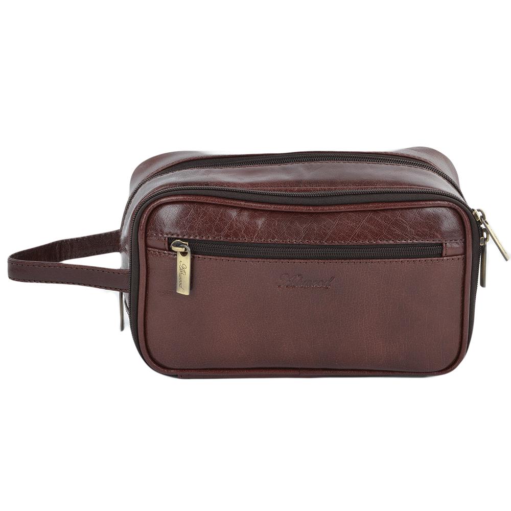 3c3a31862 Mens Leather Washbag Cognac/vt : 2080 | Mens Leather Bags