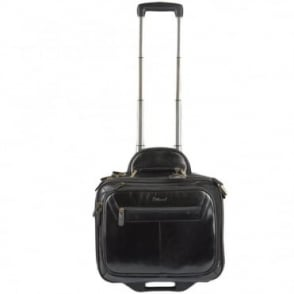 Quad Section Business Weekend Trolley Black/ari : 89151