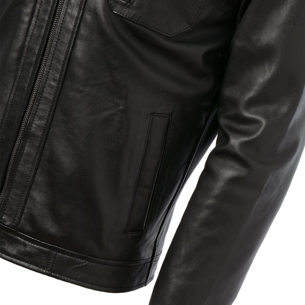 Expensive leather jacket