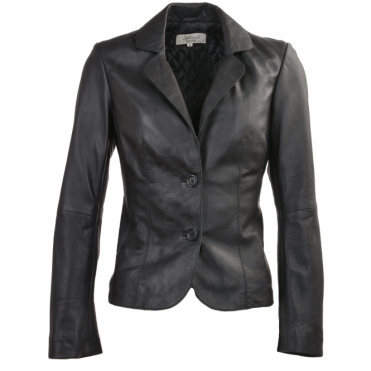 Leather Jacket Black : Summer