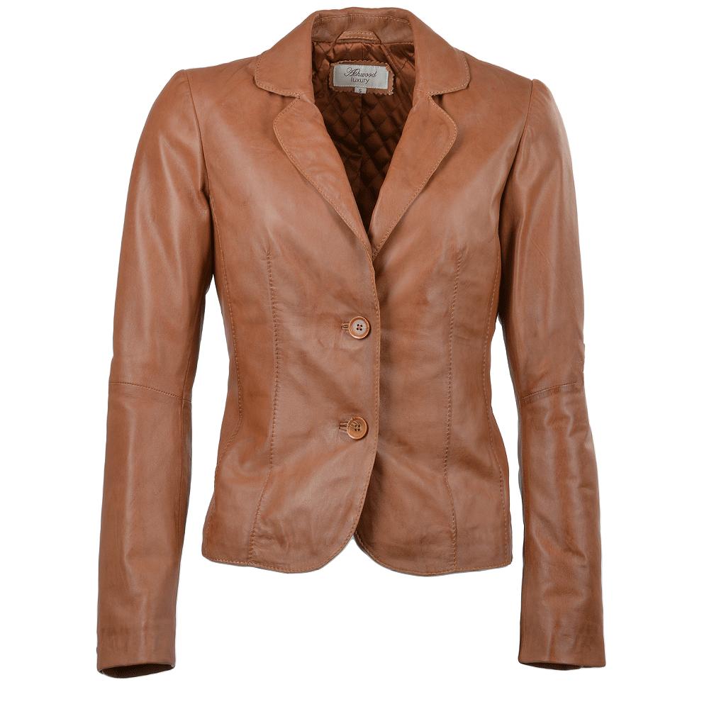 Tan jacket for women