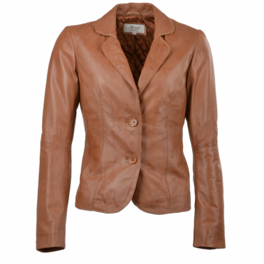Leather Jacket Tan : Summer