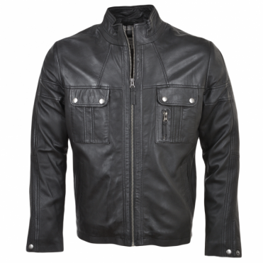 Leather Jacket Timber : Bacchus
