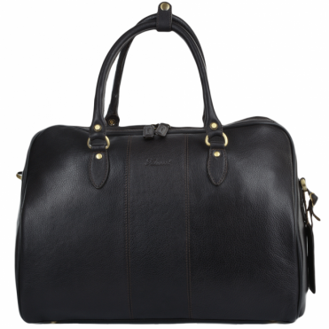 Medium Weekend Leather Holdall Brown/tum : Harry
