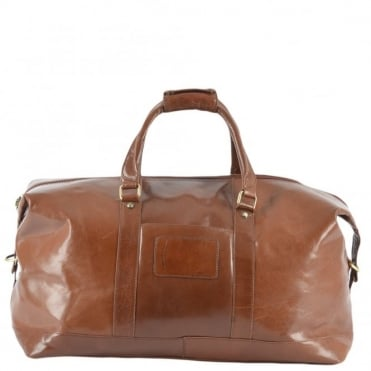 Mens Large Travel Holdall Chestnut/vt : 2070