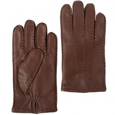 Mens Leather Gloves Tan : 710