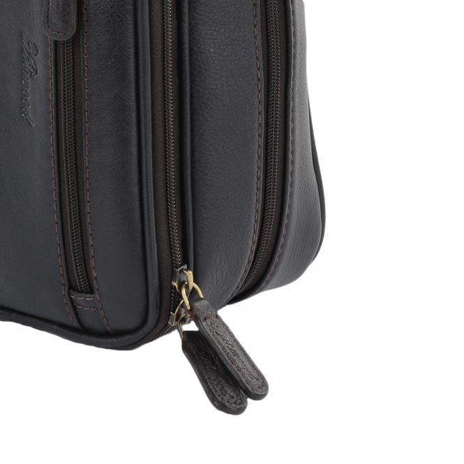 b5c6e59b3 Mens Leather Washbag Brown/tum : 2080 | Mens Leather Bags